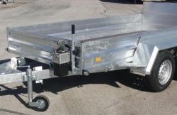 BT 3000 KV-A - 3560 x 1700 mm - Tieflader- und Hochlader Anhänger
