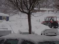 Schnee satt auch bei Harbeck