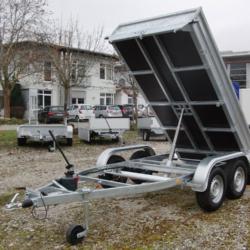 Hinterkipper - Tieflader - BT2500HKI 1 - Kipper - Anhänger